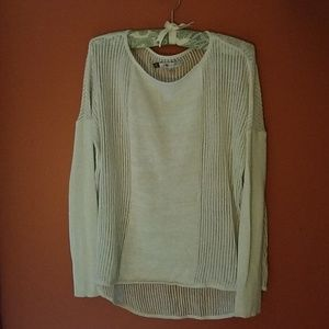 J.Lo metallic sweater